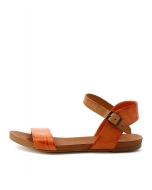 JINNIT ORANGE TAN LEATHER