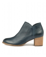 SHARON NAVY LEATHER