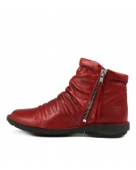 SUKAIL W RED LEATHER