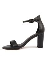GESSIE BLACK LIZARD LEATHER