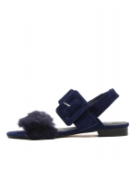 PLAYO NAVY FUR SUEDE
