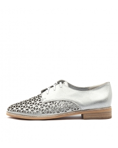 ABIND WHITE&SILVER LEATHER