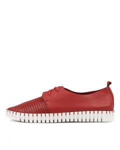 HUSTON RED LEATHER