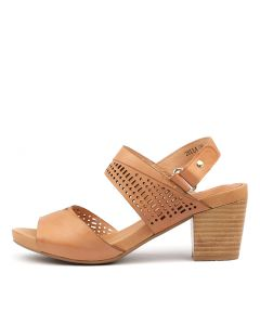 ZELLA CANTALOUPE LEATHER