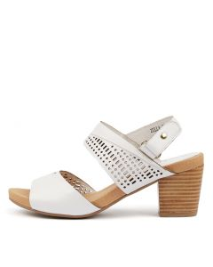 ZELLA WHITE LEATHER