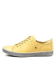 DEMPSEY YELLOW LEATHER