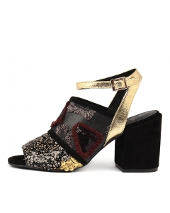 KASHA BLACK&GOLD MULTI
