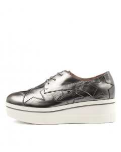 NARO PEWTER SHINE LEATHER