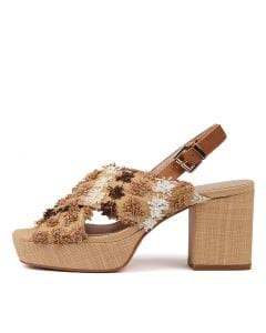 KATI NATURAL MULTI T RAFFIA LEATHER
