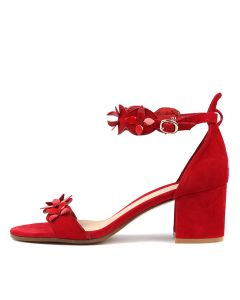 RAYMON RED RED SUEDE PATENT
