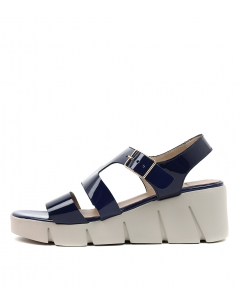 WICKET DARK BLUE PATENT LEATHER