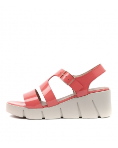 WICKET CORAL PATENT LEATHER