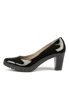 WISE BLACK PATENT LEATHER
