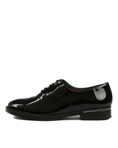 WHISKERS BLACK PATENT LEATHER
