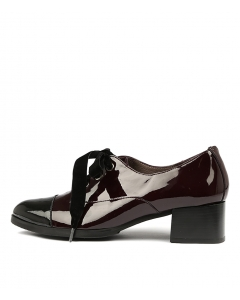 WIDGET BLACK BORDO PATENT LEATHER