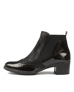 WARMLY BLACK PATENT LEATHER