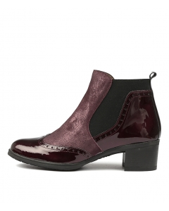 WARMLY BORDO PATENT LEATHER