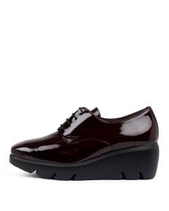 WHISPERS WINE PATENT LEATHER