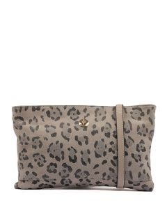 BROOKE WZ GREY LEOPARD LEATHER